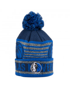 Dallas Mavericks Cuff Pom Youth Kinder Wintermütze 58-62 cm