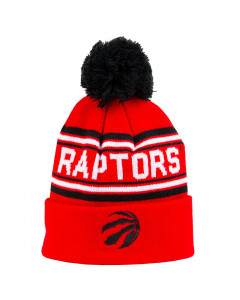 Toronto Raptors Cuff Pom Youth Kinder Wintermütze 58-62 cm