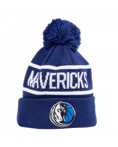 Dallas Mavericks New Era Bobble Cuff Knit Wintermütze