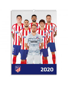 Atletico de Madrid koledar 2020