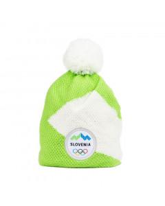 Slovenija OKS Peak otroška zimska kapa