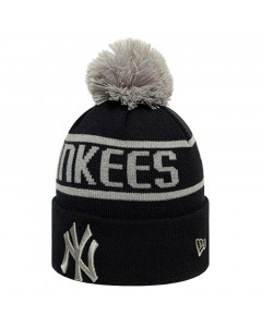 New York Yankees New Era Black Bobble zimska kapa