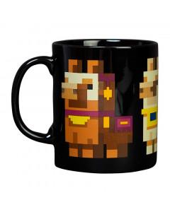 Minecraft Llama Conga Line skodelica