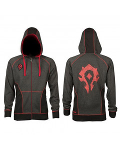 World of Warcraft WOW Horde Classic Premium Kapuzenjacke
