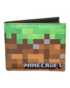 Minecraft Dirt Bi-Fold denarnica