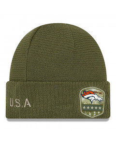 Denver Broncos New Era 2019 On-Field Salute to Service Wintermütze