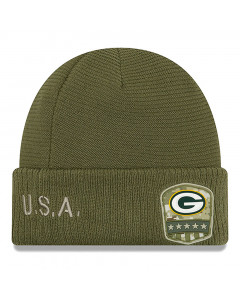 Green Bay Packers New Era 2019 On-Field Salute to Service Wintermütze