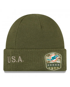 Miami Dolphins New Era 2019 On-Field Salute to Service Wintermütze