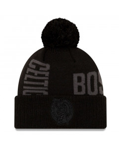 Boston Celtics New Era 2019 Tip Off Black Tonal Wintermütze