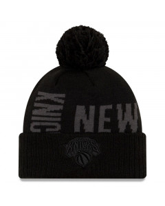 New York Knicks New Era 2019 Tip Off Black Tonal Wintermütze