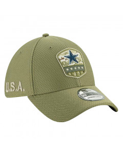 Dallas Cowboys New Era 39THIRTY 2019 On-Field Salute to Service Mütze