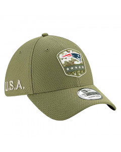 New England Patriots New Era 39THIRTY 2019 On-Field Salute to Service Mütze
