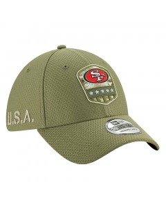 San Francisco 49ers New Era 39THIRTY 2019 On-Field Salute to Service Mütze