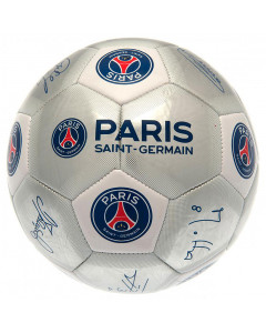 Paris Saint-Germain lopta sa potpisima