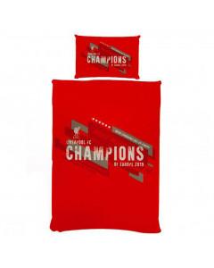 Liverpool Champions Bettwäsche zweiseitig 135x200