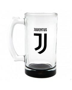 Juventus staklena krigla