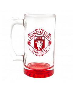 Manchester United staklena krigla