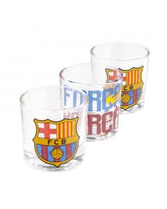 FC Barcelona 3x čašica za rakiju