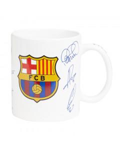 FC Barcelona skodelica s podpisi