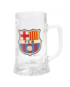 FC Barcelona stekleni vrč