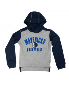 Dallas Mavericks Youth Retro Block duks sa kapuljačom