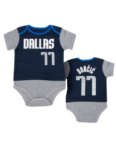 Luka Dončić 77 Dallas Mavericks Baby Body