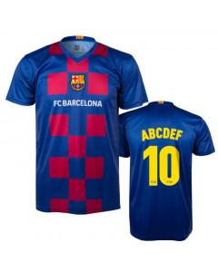 FC Barcelona Poly Training T-Shirt Trikot 2020 (Druck nach Wahl +15€)