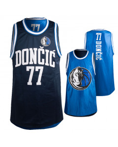 Luka dončić 77 Dallas Mavericks Pure Shooter Tank obostrani dres