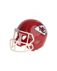 Kansas City Chiefs Riddell Pocket Size Single kaciga