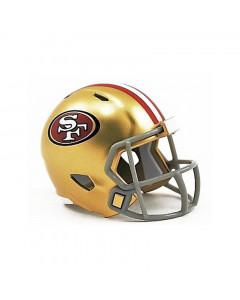 San Francisco 49ers Riddell Pocket Size Single kaciga