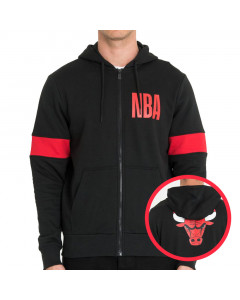 Chicago Bulls New Era zip majica sa kapuljačom