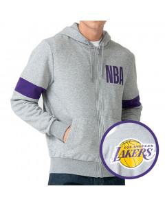 Los Angeles Lakers New Era zip majica sa kapuljačom