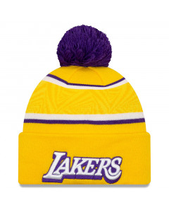 Los Angeles Lakers New Era City Series 2019 Wintermütze