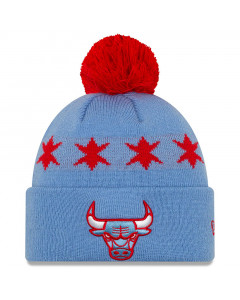 Chicago Bulls New Era City Series 2019 Wintermütze