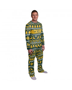 Green Bay Packers Wordmark Crewneck Pyjama