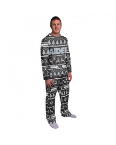 Oakland Raiders Wordmark Crewneck Pyjama