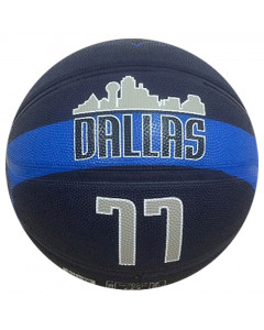 Luka Dončić 77 Dallas Mavericks Spalding Basketball Ball