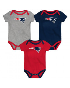 New England Patriots 3x Baby Body