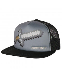 Minecraft Jinx Sword  Trucker Mütze