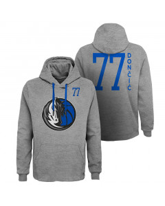 Luka dončić 77 Dallas Mavericks GOAT pulover s kapuco