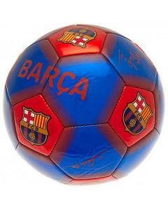 FC Barcelona žoga s podpisi