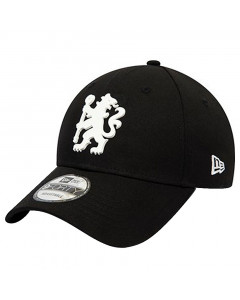Chelsea New Era 9FORTY Rubber Logo Mütze