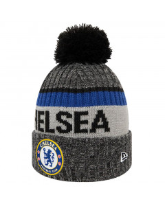 Chelsea New Era Heavy Bobble Wintermütze