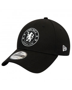 Chelsea New Era 9FORTY Black Mütze