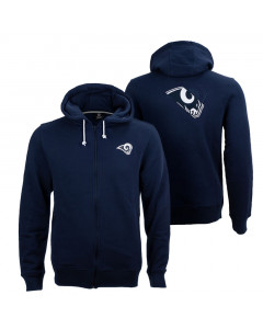 Los Angeles Rams Oversized Split Print Zip Thru jopica s kapuco