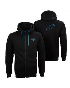 Carolina Panthers Oversized Split Print Zip Thru zip majica sa kapuljačom