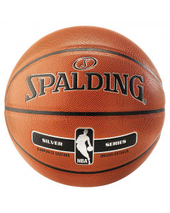 Spalding NBA Silver Basketball Ball