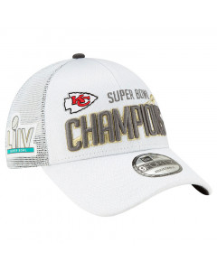 Kansas City Chiefs New Era 9FORTY Trucker Super Bowl LIV Champions Mütze