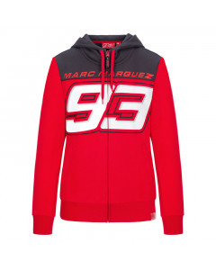 Marc Marquez MM93 Big Number Damen Kapuzenjacke