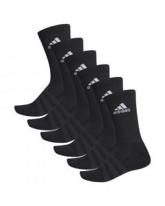 Adidas Cushioned Crew 6x Socken schwarz